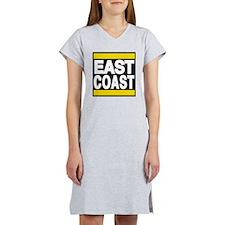 east coast yellow Women's Nightshirt