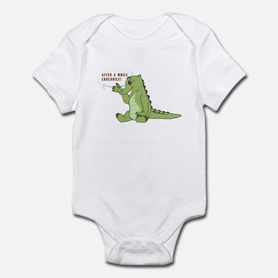 After a while... Infant Bodysuit