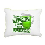 Take A Pitcher it Will Last Longer Rectangular Can