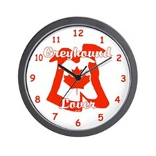 CANADIAN GREYHOUND LOVER WALL CLOCK