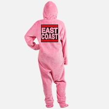 east coast red Footed Pajamas