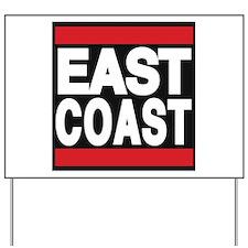 east coast red Yard Sign