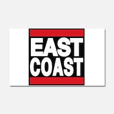 east coast red Car Magnet 20 x 12