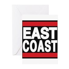 east coast red Greeting Cards (Pk of 10)