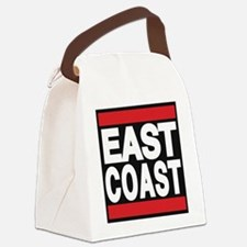 east coast red Canvas Lunch Bag