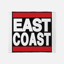 east coast red Throw Blanket