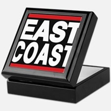 east coast red Keepsake Box