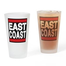 east coast red Drinking Glass