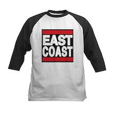 east coast red Baseball Jersey