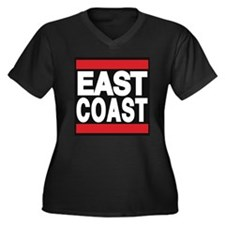 east coast red Plus Size T-Shirt
