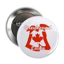 CANADIAN GREYHOUND LOVER BUTTON