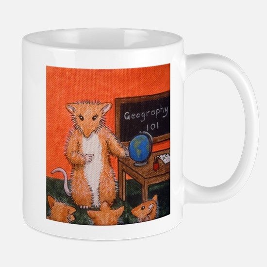 Teacher Sian Woodhill Whiskers Small Mug