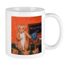 Teacher Sian Woodhill Whiskers Small Small Mug