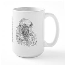 cockatoo3mug Mugs