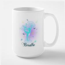 Breathe Yoga Pose Mug