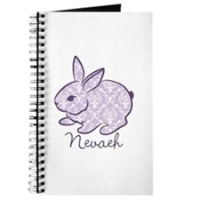 Purple chic bunny Journal