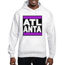 atlanta purple Hoodie