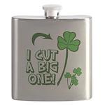 I Cut a BIG one! Flask