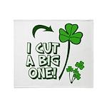 I Cut a BIG one! Throw Blanket