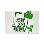 I Cut a BIG one! Rectangle Magnet (10 pack)
