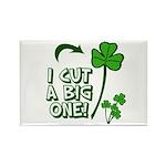 I Cut a BIG one! Rectangle Magnet (100 pack)