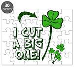 I Cut a BIG one! Puzzle