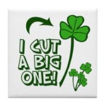 I Cut a BIG one! Tile Coaster