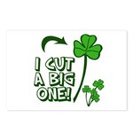 I Cut a BIG one! Postcards (Package of 8)