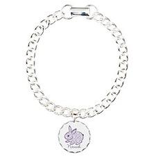 Purple chic bunny Bracelet