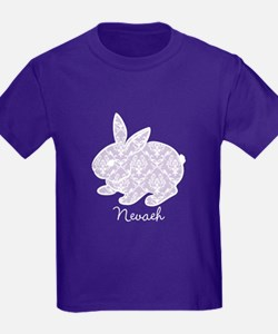 Purple chic bunny T-Shirt