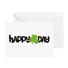 Happy Shamrock Day Greeting Cards (Pk of 20)