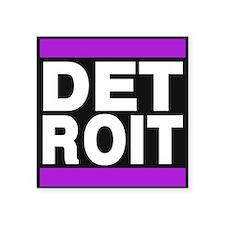 detroit purple Sticker