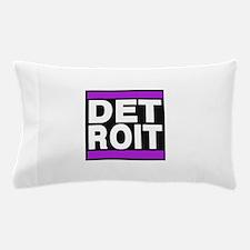 detroit purple Pillow Case