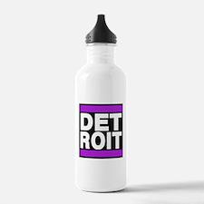 detroit purple Water Bottle
