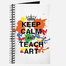 Keep Calm Teach Art Journal