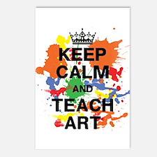 Keep Calm Teach Art Postcards (Package of 8)