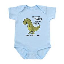 T-Rex Clap II Onesie