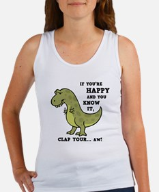 T-Rex Clap II Women's Tank Top