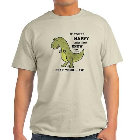 T-Rex Clap II Light T-Shirt