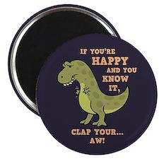 T-Rex Clap II Magnet