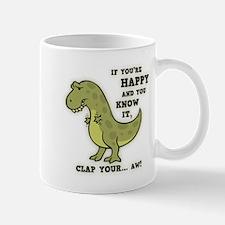 T-Rex Clap II Small Small Mug