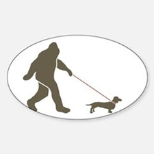 Sas. & Dog Rectangle Bumper Stickers