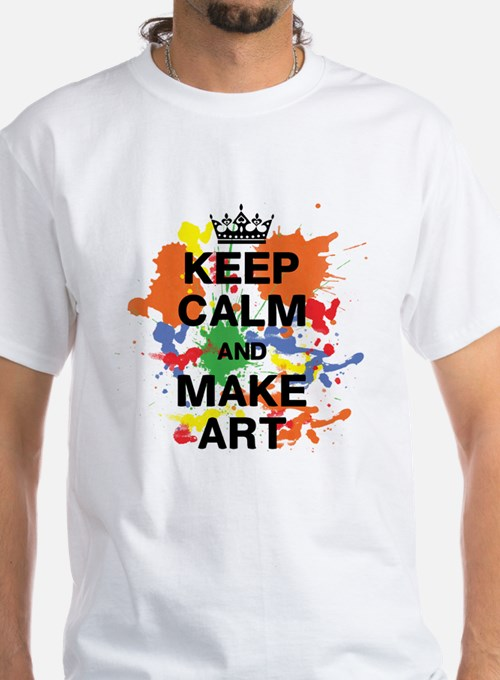 Keep Calm And Make Art T Shirts, Shirts & Tees