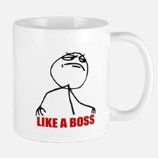 Like A Boss Meme Mug
