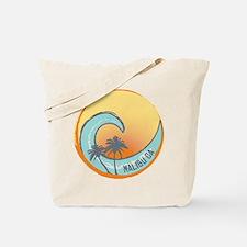 Malibu Sunset Crest Tote Bag