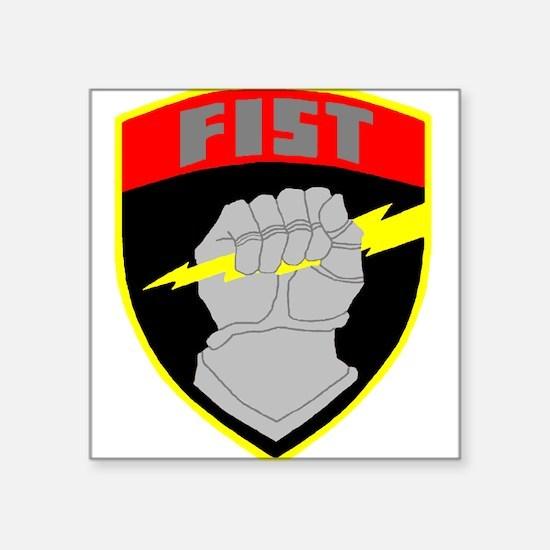 FIST Rectangle Sticker