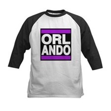orlando purple Baseball Jersey