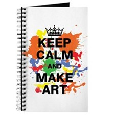 Keep Calm and Make Art Journal