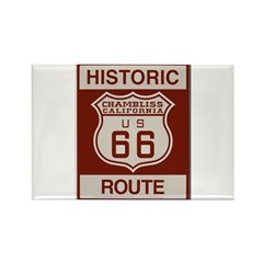 Chambliss Route 66 Rectangle Magnet