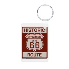 Chambliss Route 66 Keychains